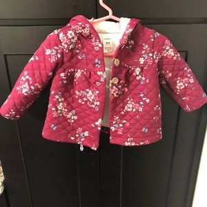 New Baby Girl hooded jacket